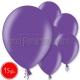 """10.5""""/27cm lateksa balons, metalliks, fuksija, 15 gab."""