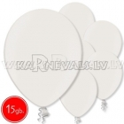 "10.5""/27cm lateksa balons, metalliks, rozā, 15 gab."