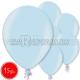 """10.5""""/27см шар из латекса,  металлик, голубой, 15 шт."""