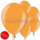 """10.5""""/27см шар из латекса,  металлик, оранжевый, 15 шт."""