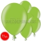 """10.5""""/27cm lateksa balons, metalliks, laima zaļa, 15 gab."""
