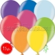 "10.5""/27cm lateksa balons, metalliks, assorti, 15 gab."