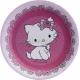 Papīra Šķīvji, sirdsveida, Hello Kitty, Charmmy Kitty, 20cm,6 gab