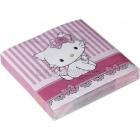 Dekoratīvās papīra salvetes, Tēma -  Hello Kitty, Charmmy Kitty 33cm х 33cm  20 gab.