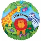 """18""""/45cm, folija balons, Tēma: Džungļi"""