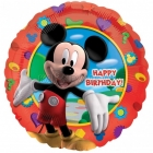 "18""/45cm, folija balons Tēma: Mickey Mouse."