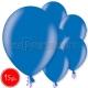 """10.5""""/27см шар из латекса,  металлик, синий, 15 шт."""