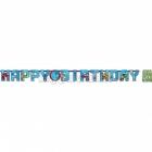 Бумажная декорация, буквы, Тема: Трансформеры, 1.8 м