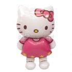 "50""/127cm  x 30""/76cm   AirWalker Staigājošs  folija balons  Tēma: Hello Kitty"