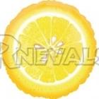 """18""""/45см шар из фольги, Лимон"""