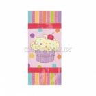 24cm  x 10cm  x 5.7cm Пакет для упаковки подарков, тема: Праздник сладостей  20 шт.