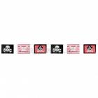 Баннер Тема: Пиратские сигнальные флажки 3,7м