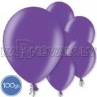 """Металлик, фиолетовые, 10.5""""/27см, латексные шары, 100 шт."""
