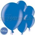 """Металлик, синие, 10.5""""/27см, латексные шары, 100 шт."""
