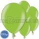 "Metalliks, gaiši zala, 10.5""/27cm lateksa baloni, 100 gab."
