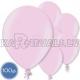Латексные шары, светло-розовые, металлик