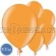 Латексные шары, светло-оранжевые, металлик