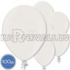 Латексные шары, белые, металлик