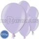 Латексные шары, светло-фиолетовые, металлик