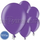 "Metalliks, violeti, 12""/30cm lateksa baloni 100.gab."