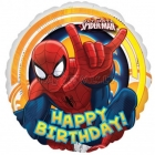 "17""/43cm, folija balons,  Tēma:  Spaidermens"