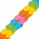 Бумажная гирлянда   цвет радуга 3,65м