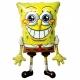 """Staigājošs folijas balons """"Sūklis Bobs Kvadrātbiksis / SpongeBob"""", izmērs 117 x 74 cm."""