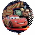 "18""/45cm, folija balons Tēma: Disney Cars Group"