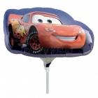 """9"""" Folijas  mini figūre rozete turētājs Tēma:Cars Lightening McQueen"""