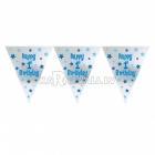 Бумажная декорация  буквы  Тема: Первый день рождения   3.65м x 25.4см