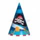 Шапочка  для детского праздника Тема: пираты 17.7см 1 шт