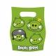 Пакеты  для упаковки подарков  Тема: Angry Birds 6 шт