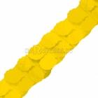 Papira dekoracija   dzeltens 3,65m.