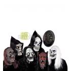 Helovīnu Maska, spīd tumsā, acis un zobi