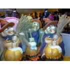 Keramikas statuete ragana Helovīniem 20cm