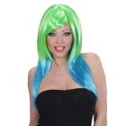 Двухцветный парик русалки