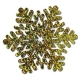 Prizmatiska sniegparsla,  zelta, 35 cm