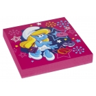 Салфетки бумажные Тема: Smurfette 32.7см х 32,7см 20 шт.