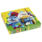 Салфетки бумажные Тема: Smurfs Movie 32.7см х 32,7см 20 шт.