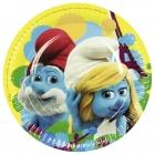 Тарелки с рисунком.Тема  - Smurfs Movie, 22.8 см, 8 шт