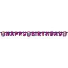 Бумажная гирлянда печать Тема: Smurfette  1.8м x 12см