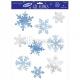 Logu dekoracija - sniegparsla 45.7 cm x 30.5 cm