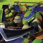 Dekoratīvās papīra salvetes Tēma:  Ninja Turtles 33cm 20.gab.
