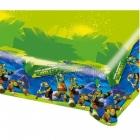 Скатерть бумажная  с рисунком  Тема: Ninja turtles