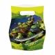 Пакеты  для упаковки подарков  Тема: Ninja 6 шт.