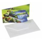 Пригласительная открытка, Тема: Ninja 8 шт.