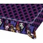 Скатерть бумажная  с рисунком  Тема: Monster High