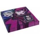 Dekoratīvās papīra salvetes Tēma: Monster High 33cm 20.gab.