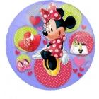 """26""""/66cm Folija balons  Сaurspīdīgs Tēma: Minnija Mouse"""