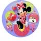 "26""/66 см шар из фольги Прозрачный Тема:  Minnija Mouse"